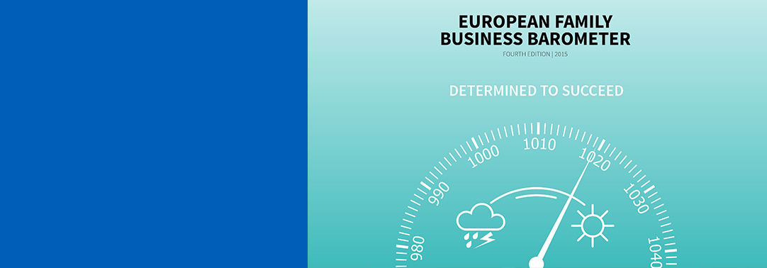 The European Family Business Barometer (fourth edition)