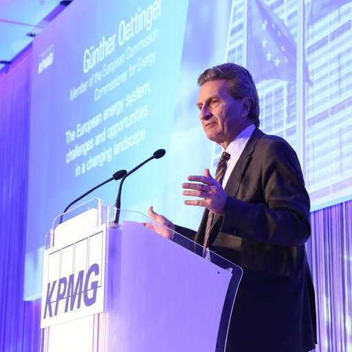 Günther Oettinger, KPMG Global Power Utilities Conference 2013