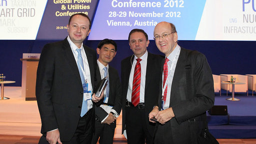 Nikolay Solomon, Chief Financial Officer, State Atomic Energy Corporation Rosatom; Andrey Kim, Partner, KPMG in Russia; Peter Kiss (KPMG); David Simpson, Partner, KPMG in the United Kingdom