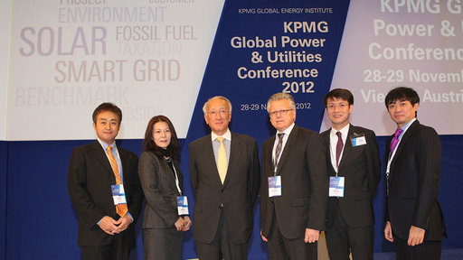 Nobuo Tanaka, KPMG delegation from Japan, KPMG Global Power Utilities Conference 2012