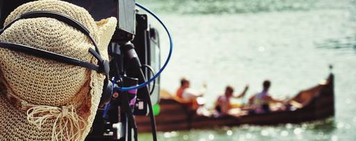 filming a boat