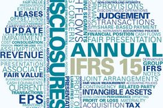 KPMG's Global IFRS Institute | Cover image for IFRS 15 Illustrative Disclosures (Revenue from Contracts with Customers)