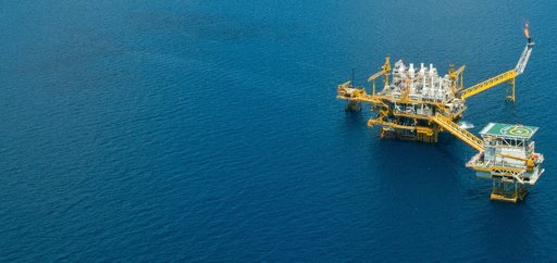 offshore oil gas rig