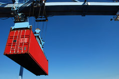Shipping of container