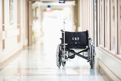 wheelchair-in-empty-hospital