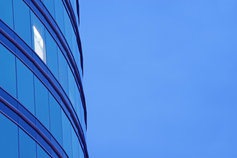 Banks newsletter image: tall office building