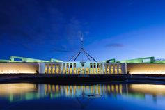 Australian Parliament House in Canberra