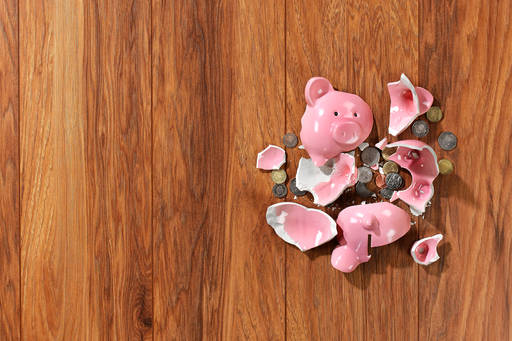 Protecting defined benefit pension schemes: Government white paper, Broken piggy bank