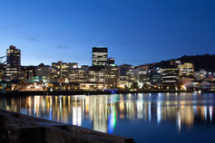 Wellington New Zealand skyline