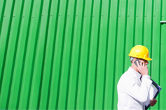 KPMG IFRS Conceptual Framework topic image: workers on a building site