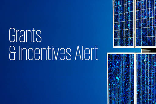 Grants and incentives Alert
