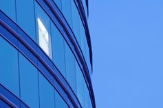 KPMG IFRS for banks | Glass fronted building