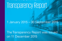 Transaparency report 2015