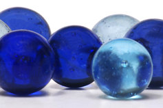 blue-marbles