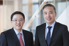 Benny Liu (right) and Honson To (left)