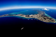 Cayman Islands aerial