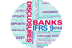 KPMG Guides to interim IFRS financial statements 2017 publication image: financial statement and disclosure word cloud
