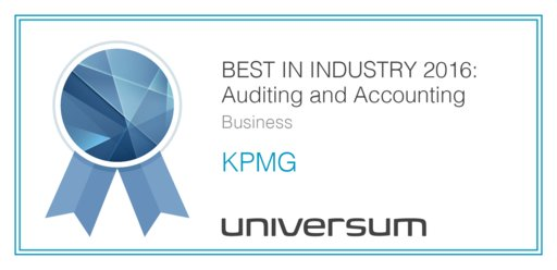Universum Awards - KPMG Czech Republic