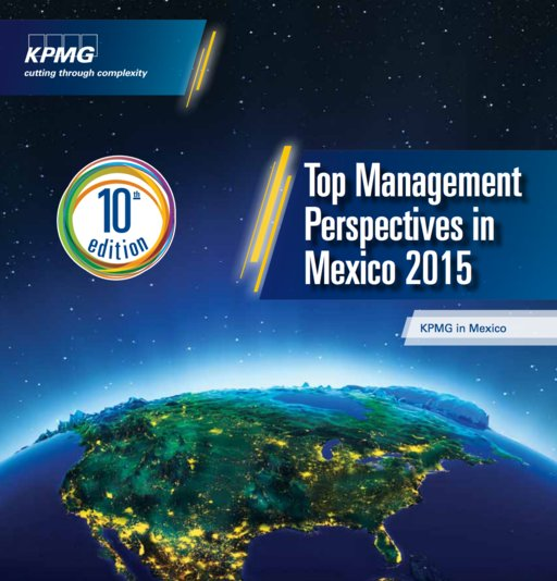 Top Management Perspectives in Mexico 2015