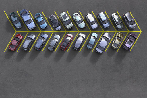 a parked cars
