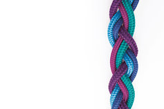 KPMG brand colored rope