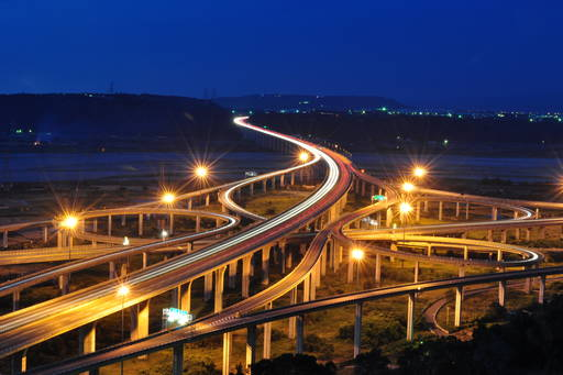 roads-highway-at-night