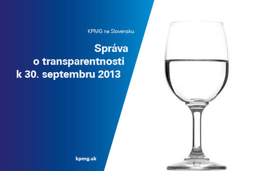 Slovakia Transparency Report 2013