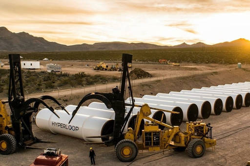 construction of a hyperloop tube system