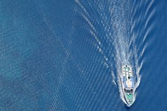 KPMG's Global IFRS Institute | GPPC guidance for banks on implementing IFRS 9 Financial Instruments | Image: A powerboat cruising through the water