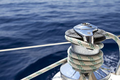 rope on yacht