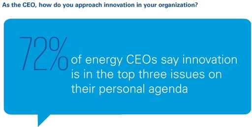As the CEO, how do you approach innovation in your organization?