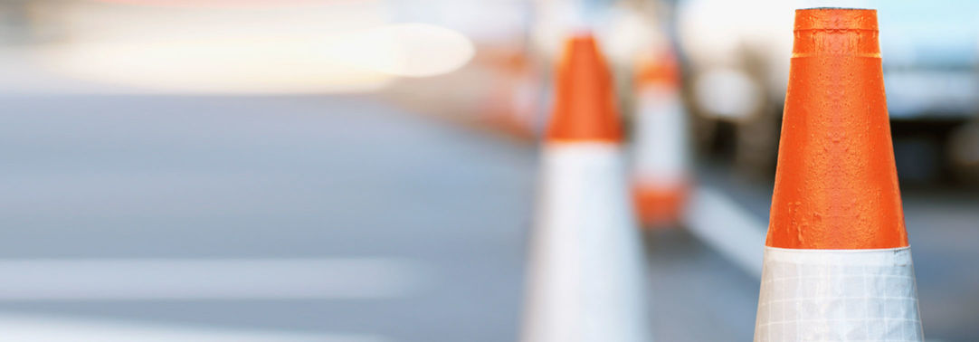 KPMG IFRS goodwill impairment Q&A image: traffic cones on a street
