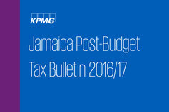 Jamaica Post Budget Tax Bulletin