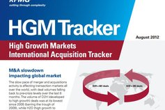 KPMG published International's latest High Growth Markets International Acquisition Tracker