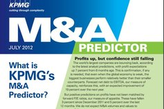 M&A Predictor – July 2012