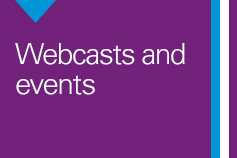 Webcasts and Events