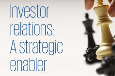 Investor relations: A strategic enabler
