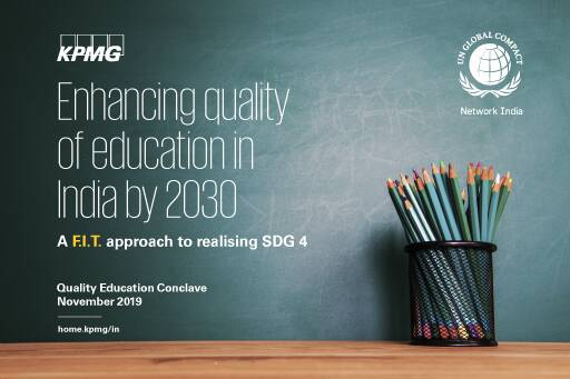 Enhancing quality of education in India by 2030: A F.I.T. approach to realising SDG 4