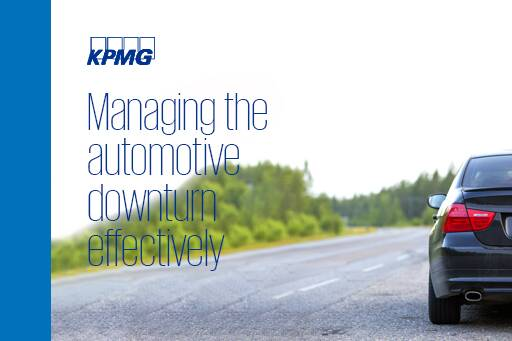Managing the automotive downturn effectively