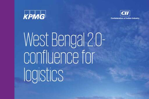 West Bengal 2.0 – Confluence for Logistics