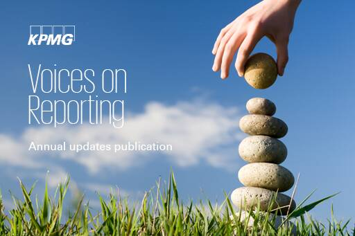 Voices on Reporting - Annual updates publication