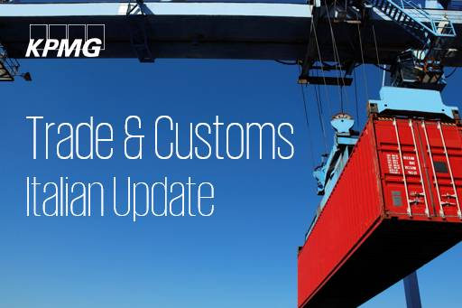 Trade & Customs Italian Update