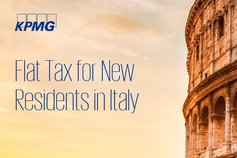 Flat Tax for New Residents in Italy