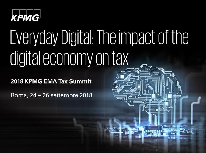 2018 KPMG EMA Tax Summit and Transfer Pricing Forum