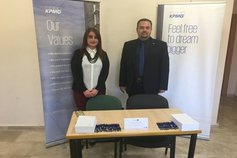 KPMG Palestine visits Birzeit University Career Day