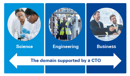 Chart 1: The domain supported by a CTO