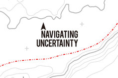 NAVIGATING UNCERTAINTY ロゴ