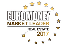 Euromoney MARKET LEADER REAL ESTATE 2017 ロゴ