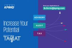 TAQAT, the KPMG Lebanon, internship program is aimed at undergraduate and graduate students to provide them with a view on the life at KPMG. TAQAT will provide you with practical exposure and invest in your understanding, learning and development in the professional services field. This exposure is an exceptional opportunity that will offer you the chance to experience the real work environment and grant you the means to be considered for recruitment upon graduation or availability of opportunities. Internship opportunities are available in the Audit, Advisory and Tax service lines.