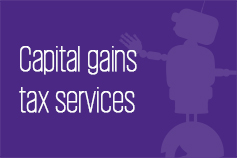 Capital gains tax services